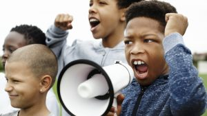 children as agents of justice